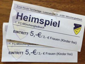 Eintrittskarten Fußball